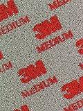 3M - Soft Pads 03808 medium (P220 - P280, Nachschleifen von Konturen, Rundungen, 20 Stück)