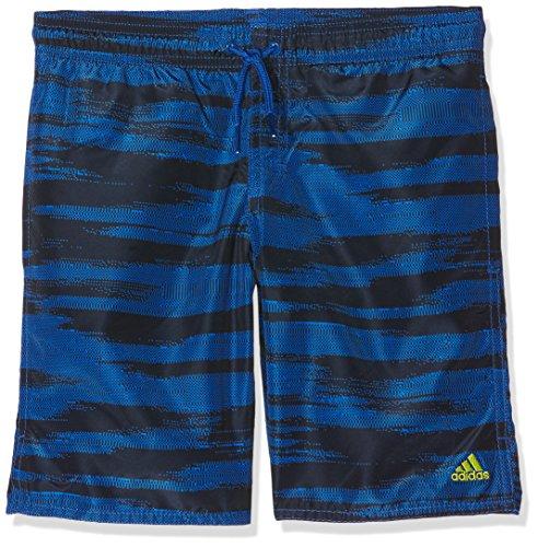 Adidas Yb Camo SH Cl Bañador, Niños, Azul Reauni, 128 7/8 años