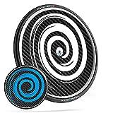 Scheibenrad Aufkleber für Rennrad Triathlon und Zeitfahrrad von style4Bike Spirale | S4B0155
