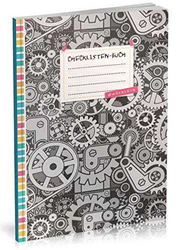 Checklisten-Buch: To Do Listen Planer | Ca. A5 Softcover | 70+ Seiten mit Titel, Datum & Register | Perfekt für Aufgaben zum Abhaken, Bucket Listen, Reiseplaner uvm. | Motiv - Kindern Planung Mit