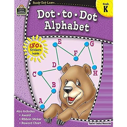 Dot to Dot Alphabet, Kindergarten