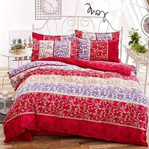 RONGXIE bettwäschesätze Baumwolle Set Reactive Printing heißer tröster Bett gesetzt Königin voller größe 4 stücke -