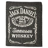 Jack Daniel's - Black Cotton/Leather Wallet