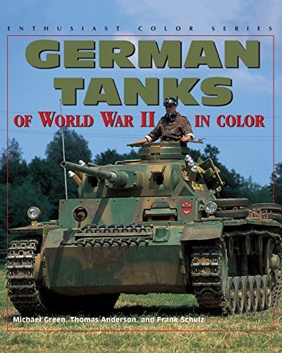 Tank enthusiast the best amazon price in savemoney german tanks of world war ii enthusiast color by green michael 2000 fandeluxe Choice Image