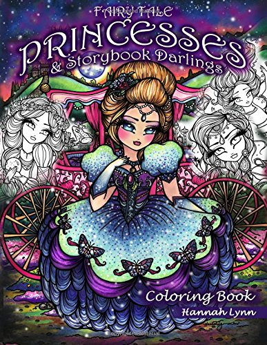 Fairy Tale Princesses & Storybook Darlings Coloring Book