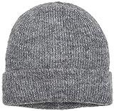 PIECES Damen Strickmütze PCJOSEFINE Hood NOOS, Grau (Medium Grey Melange), One Size