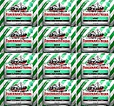 Fishermans Friend Sugar Free Mint Menthol Lozenges 25g x 12 Packs