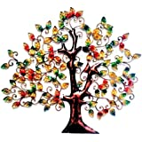 [Sponsored]Elegant Iron/Metal Handicraft Wall Decor/Wall Hanging Multicolour Tree Of Knowledge/Tree Of Wisdom Handmade Interior Design Metal Wall Art Sculpture Wall Decor And Hanging