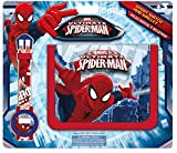Kids Spiderman, Set Brieftasche und Digital-Uhr (mv16072)