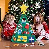 Bageek Weihnachtsbaum DIY,Fansport DIY Weihnachtsbaum Dekoration Abnehmbare Weihnachtsbaum Weihnachten Geschenk für Kinder Kinder Dekorationen Wand Hänge Weihnachten Kit