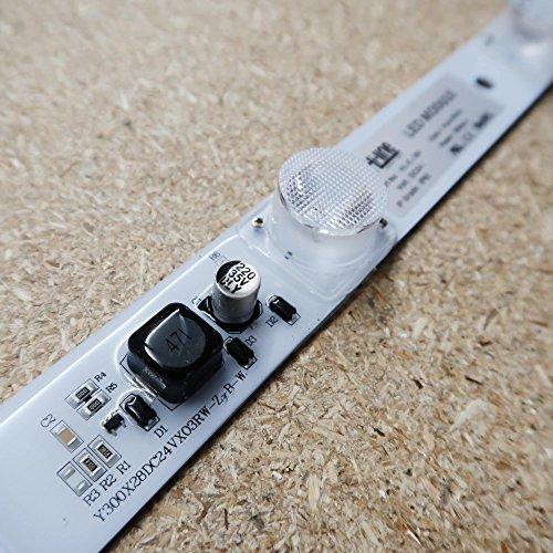 Osram éclairage LED Edge Signage module 24 V 9 W 810lm Blanc 6500-7000 K Angle de faisceau 15 ° * 45 ° IP65