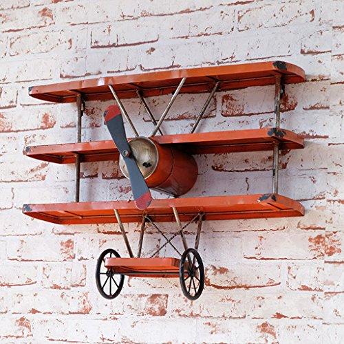 YJH+ LOFT Industrial Vintage Flugzeug Regal