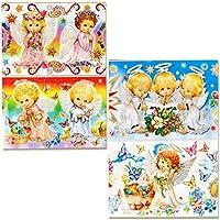 rukauf 10 Paquetes de Pascua decoración moldes angelitos, 7 diseños Distintos ...