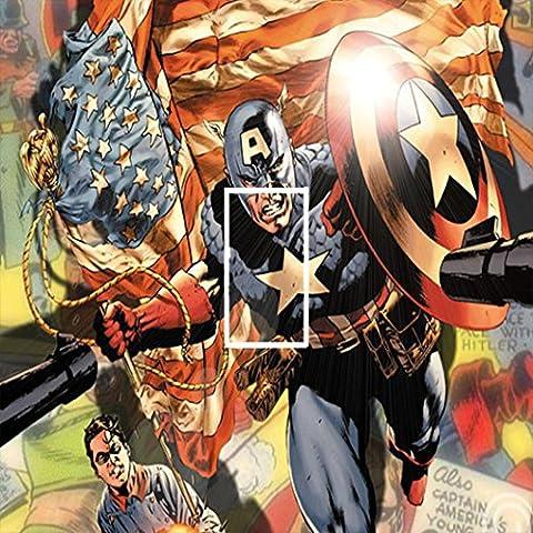 Marvel Capitán América de los Vengadores Interruptor de luz adhesivo Kids/dormitorio