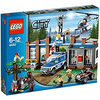 lego city 4437 jeu de construction la course poursuite en for t lego city. Black Bedroom Furniture Sets. Home Design Ideas