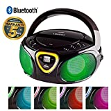 Best Portable Cd Player Bluetooths - Lauson CP752 Cd-Player | Boombox | Portable Radio Review