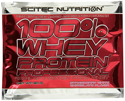 Scitec Nutrition Protein 100% Whey Protein Professional, Geschmack Mix (Banane, Schokolade-Haselnuss, Beeren, Kokos-Schokolade, Erdbeere-Weiße-Schokolade), 1800g