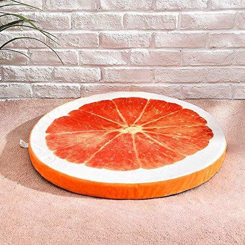YUYILIN Dog Kennel Cute House Hot Orange Sandía Estampado