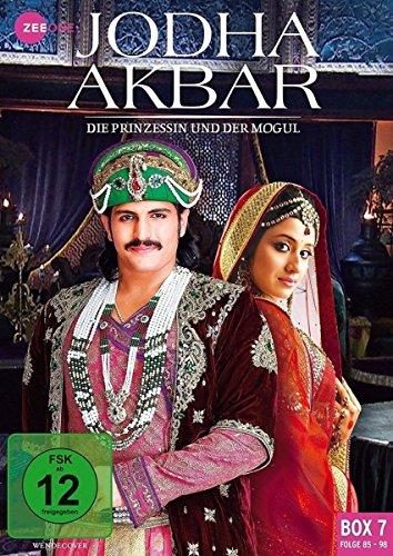 Jodha Akbar - Die Prinzessin und der Mogul (Box 7, Folge 85-98) [3 DVDs] (Indien Prinzessin Kostüm)
