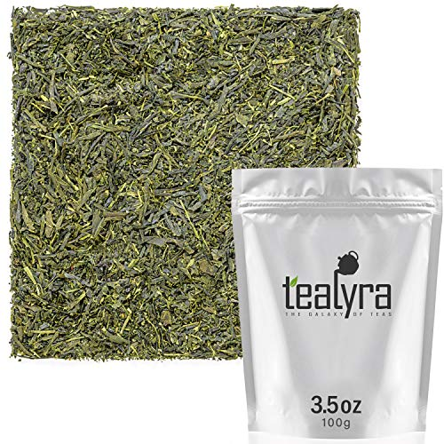 Tealyra - Sencha Kakegawa - Premium Japanese Green Tea - Loose Leaf Tea - 100g