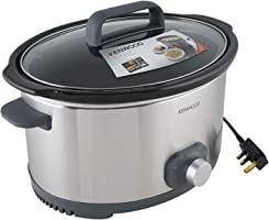 Kenwood Slow Cooker, Silver, SCM650