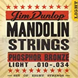 Jim dunlop mandolin light phosphor bronze 10-34