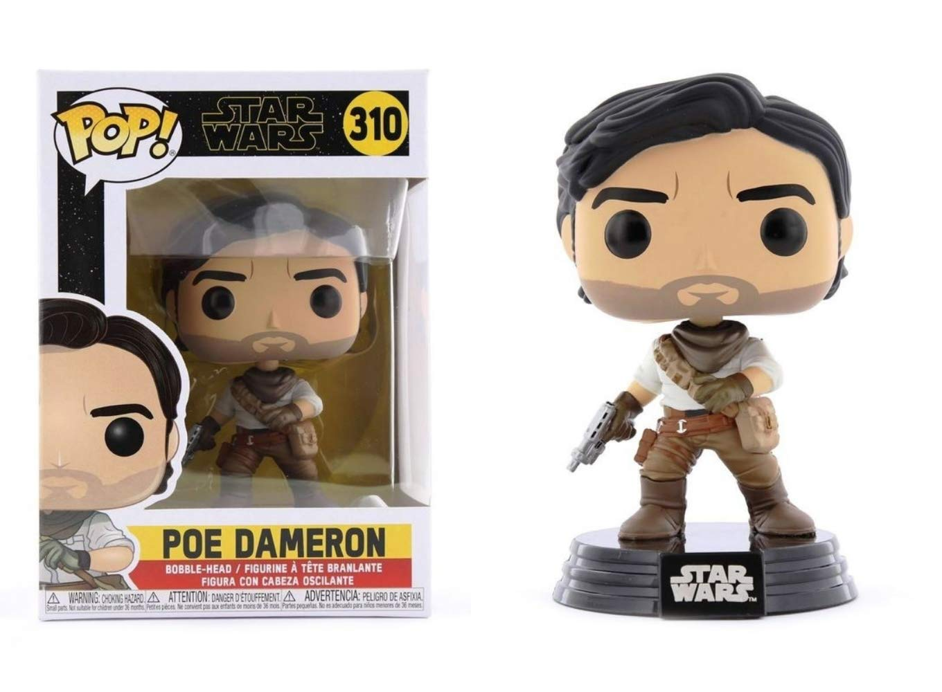 Funko Pop Poe Dameron (Star Wars 310) Funko Pop Star Wars