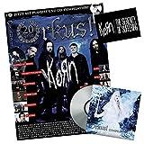Orkus! November 2016 mit CD Orkus! Compilation 119! Interviews mit KORN (hier inkl. KORN-Aufkleber!), DIARY OF DREAMS, D