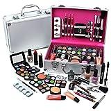 Urban Beauty - Juego de Maquillaje Neceser 60 Piezas Estuche de Cosméticos Para Viaje - Uñas Ojos Labios y Mucho Más - BagCentre - amazon.es