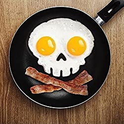 """jooks huevo frito molde cookies molde Pancake Huevo frito lado práctico de calavera molde herramienta de cocina divertida"""