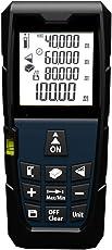 Laser Distance Meter (0.2 mm - 100 meter) | Precise & Portable Laser Tape Measurer for Home & Outdoor, Measure Length/Area/Volume