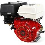 9 kW benzinemotor, 15 pk, 4-takt koeling, carburateur, 3600 omw/min.