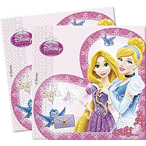 Disney Princess Sparkle Servilletas – Pack de 20