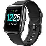 PUTARE Smartwatch, smartwatch, IP68, waterdicht, voor dames, heren, kinderen, fitnesshorloge met hartslagmeter, slaapmonitor,
