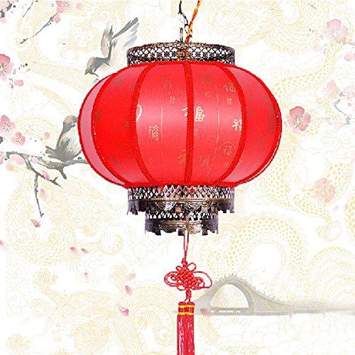 SDKKY Cinese classico ristorante con giardino del corridoio lampadario Lanterna , 30cm