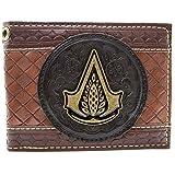 Assassins Creed Syndicate Jacob Embossed Marrone portafoglio immagine
