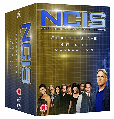 NCIS Staffel 1-7 in Deutsch und Englisch & Staffel 8 in Englisch / Season 1 2 3 4 5 6 7 8 [48-DVD Set] - La Ncis 4 Staffel