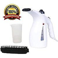 ShopHere Steamer for Facial   Garment Steamer for Clothes   Garment Steamer for Iron   Family Fabric Steam Brush   Steamer for Home, Office and Travel (Multicolor RED-White))