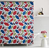 Home Candy Fancy PEVA Shower Curtain - 7...