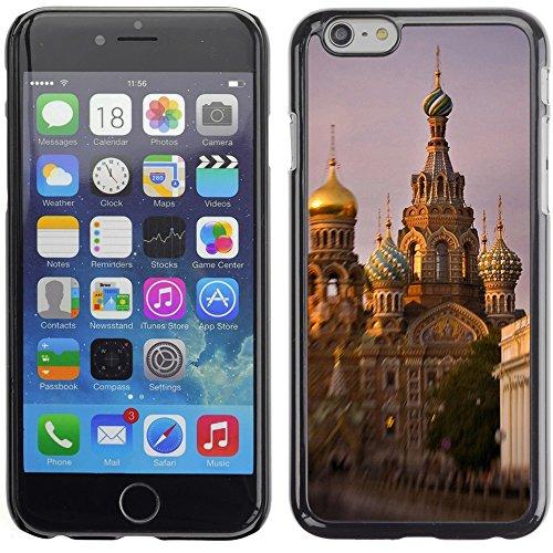 Graphic4You St Basils Cathedral Moscow Russia Postkarte Ansichtskarte Design Harte Hülle Case Tasche Schutzhülle für Apple iPhone 6 Plus / 6S Plus Design #4