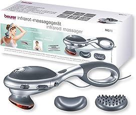 Beurer MG 70 Infrarot-Massagegerät, Klopfmassage, Rückenmassage und Beinmassage mit verschiedenen Aufsätzen
