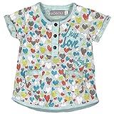 boboli 223085-9470, Vestido para Bebés, (Estampado Corazones Colores), 12M