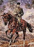 Heidi heidi4406Ghazi Mustafa Kemal zu Pferd SAKARYA Art Puzzle (1000Teile)