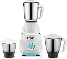 Orient Electric Kitchen Kraft MGKK50B3 500-Watt Mixer Grinder with 3 Jars (White)