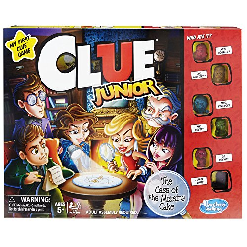 Hasbro Clue Junior Spiel