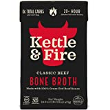 Kettle and Fire - Caldo hueso de res - 16.2 la Florida. onza.