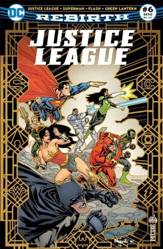 Justice League Rebirth 06 Luthor accus !
