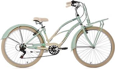 KS Cycling Damen Beachcruiser Cargo Cruiser Kahuna Fahrrad