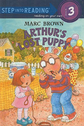 Arthur's Lost Puppy (Step Into Reading Sticker Books (Pb))