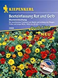 Kiepenkerl, Blumenmischung Beeteinfassung Saatband, rot/gelb